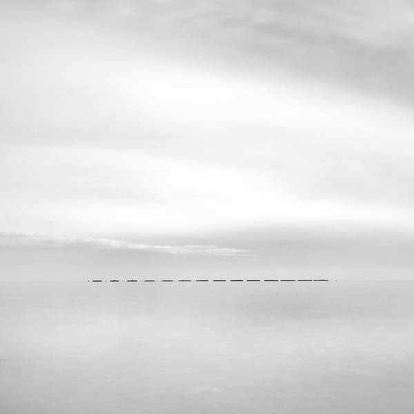 Wall Art - Photograph - Minimal Sea by Stelios Kleanthous