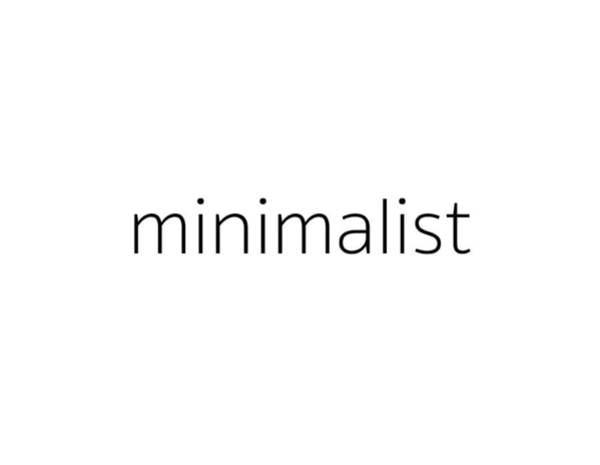 Words Photograph - Minimalist by Bill Owen