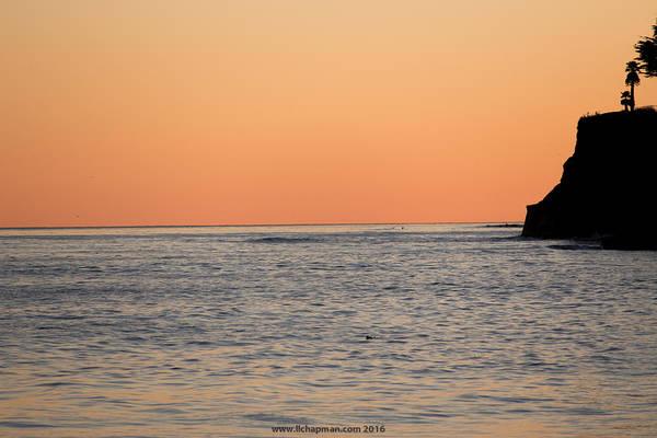 Photograph - Minimalist Sunset by Lora Lee Chapman