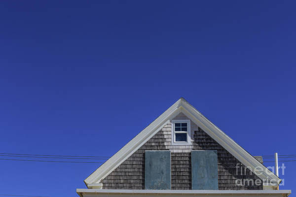 Photograph - Minimalist View Of A Boarded Up Cottage by Edward Fielding