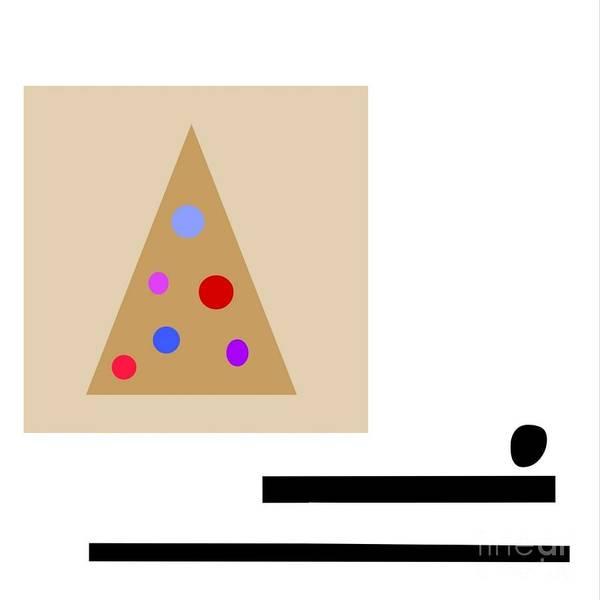 Digital Art - Minimalistic Christmas by Jessica Eli
