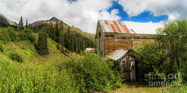 Wall Art - Photograph - Mining Buildings In Silverton by Twenty Two North Photography
