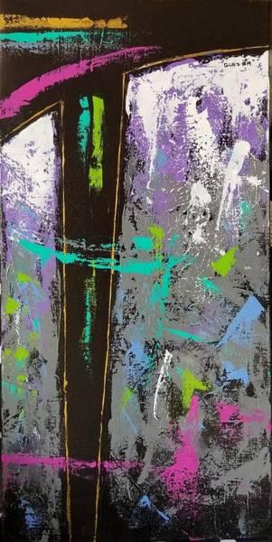 Wall Art - Painting - Mining For Amethyst by Stuart Glazer