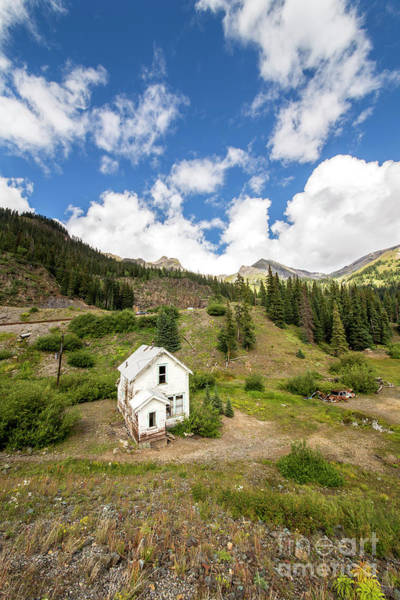 Wall Art - Photograph - Mining Home On Ridge In Silverton by Twenty Two North Photography