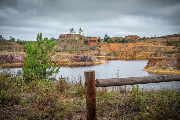 Wall Art - Photograph - Mining Site by Carlos Caetano
