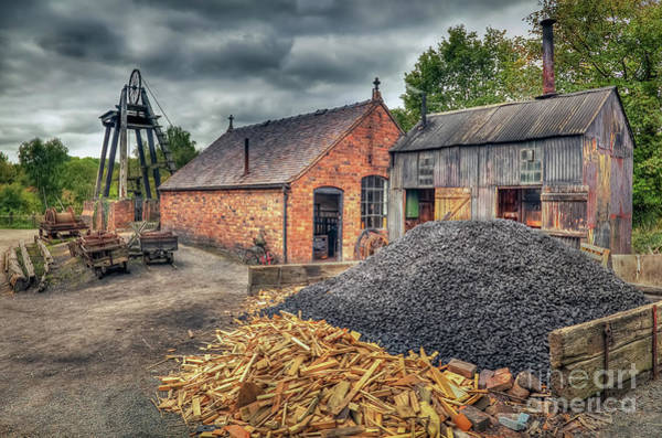 Mine Photograph - Mining Village by Adrian Evans