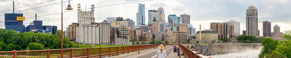 Photograph - Minneapolis Milling District by Mike Evangelist