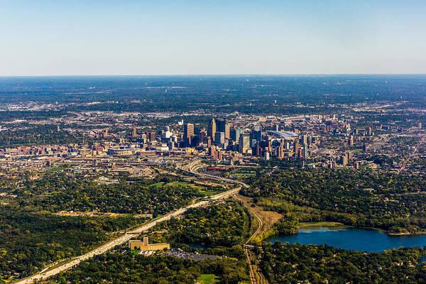 Photograph - Minneapolis Minnesota No.1 by TL  Mair