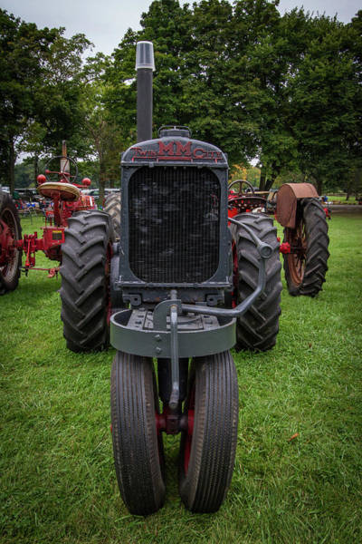 Wall Art - Photograph - Minneapolis-moline Tractor by Mike Burgquist