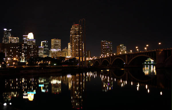 Photograph - Minneapolis On The Mississippi by Kristin Elmquist