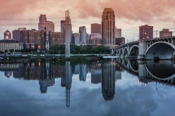 Wall Art - Photograph - Minneapolis Skyline  by Art Spectrum