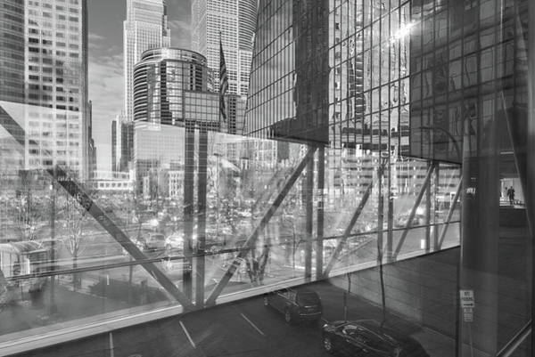 Minneapolis Photograph - Minneapolis Skyways 1 by Jim Hughes