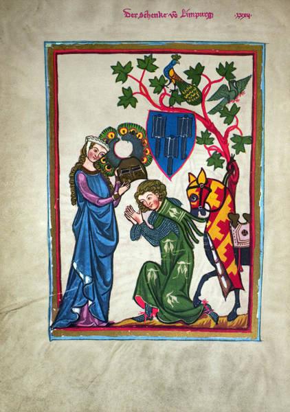 Photograph - Minnesinger, 14th Century by Granger