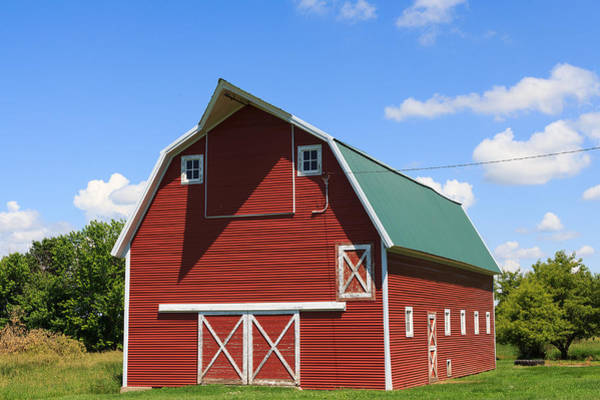 Photograph - Minnesota Barn by Patricia Schaefer