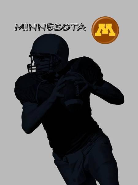 Digital Art - Minnesota Football by David Dehner