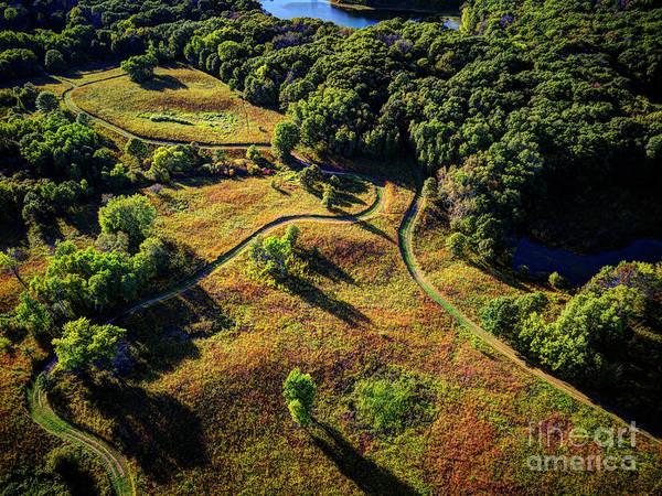 Photograph - Minnesota Parks - Lebanon Hills Park Dakota County by Wayne Moran