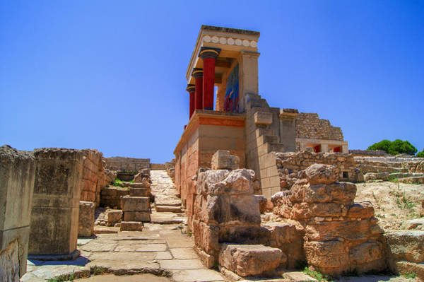 Photograph - Minoan Palace Of Knossos by Sun Travels