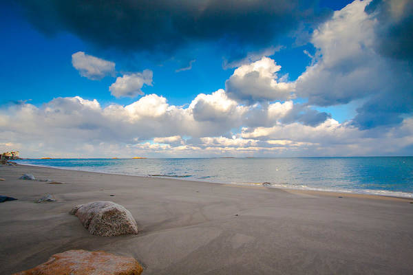 Photograph - Minot Beach In Scituate Massachusetts  by Brian MacLean
