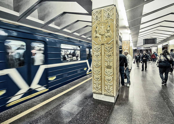 Photograph - Minsk Metro by Andy Crawford