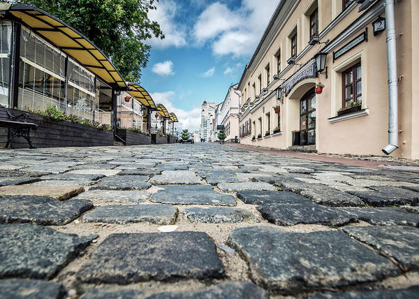 Photograph - Minsk Old Town by Andy Crawford
