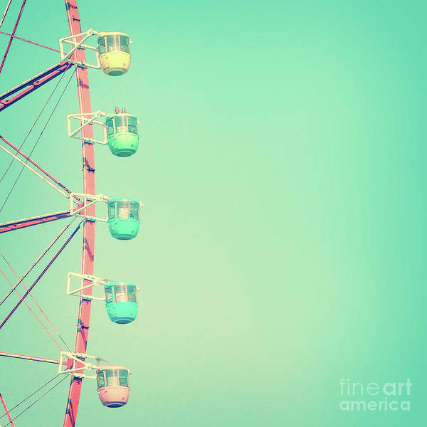 Fairground Photograph - Mint Carnival by Delphimages Photo Creations