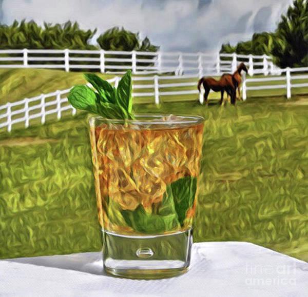 Mint Julep Kentucky Derby Art Print