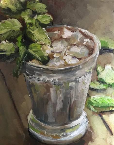 Wall Art - Painting - Mint Julep by Susan Elizabeth Jones