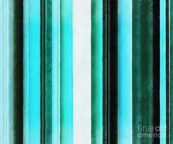 Vertical Line Digital Art - Mint by Krissy Katsimbras