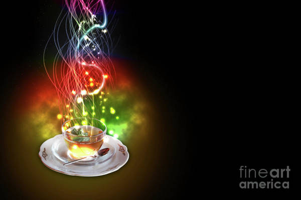 Digital Art - Mint Tea by Benny Marty