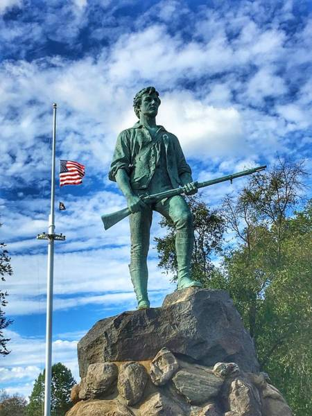 Wall Art - Photograph - Minuteman by William Rogers