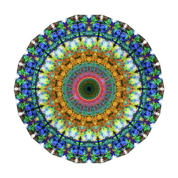 Painting - Miracle Mandala Art By Sharon Cummings by Sharon Cummings