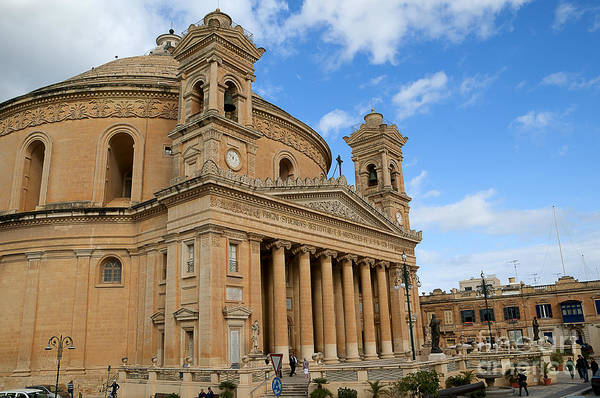Photograph - Miraculous Mosta by Brenda Kean