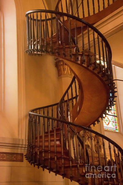 Loretto Chapel Photograph - Miraculous Staircase by Bob Phillips
