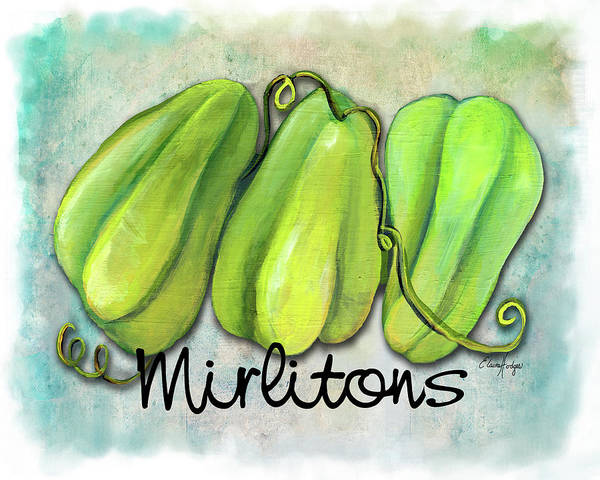Wall Art - Painting - Mirlitons by Elaine Hodges