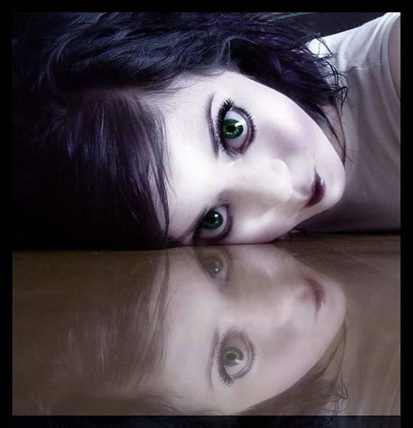 Photograph - Mirror Doll by Kasey Jones