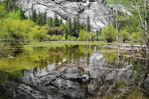 Photograph - Mirror Lake Reflection by Kyle Hanson