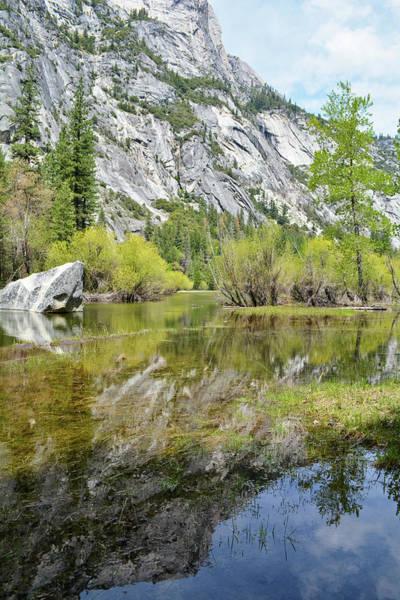 Photograph - Mirror Lake Yosemite Portrait by Kyle Hanson