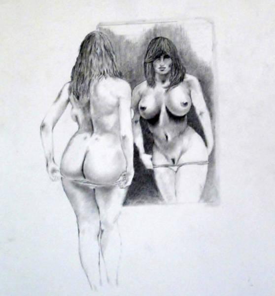 Developed Drawing - Mirror Mirror 2 by John Davis