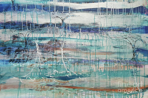 Rain Song Painting - Mirror, Mirror by Cheryle Gannaway