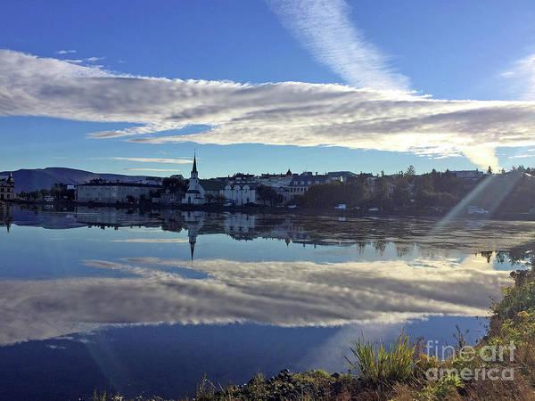Photograph - Mirror Mirror Reykjavik by Rick Locke