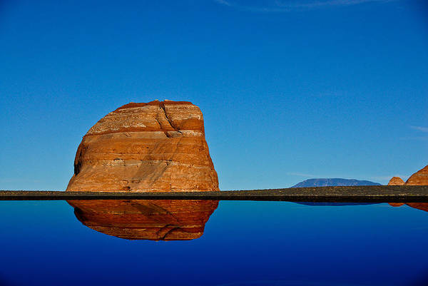 Photograph - Mirror Rock by Harry Spitz