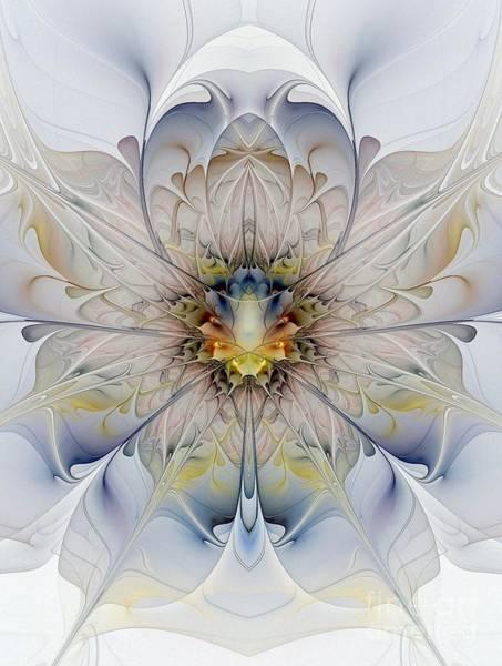 Mirrored Blossom Art Print