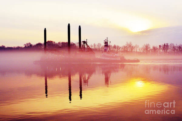 Photograph - Mirrors - Delaware River Series by Robyn King