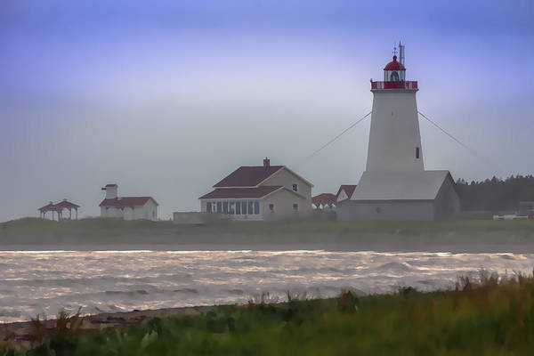 Wall Art - Photograph - Miscou Island Lighthouse by Michel Emery