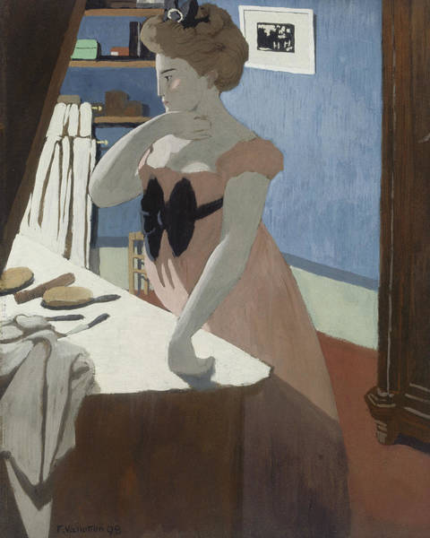 Painting - Misia At Her Dressing Table by Felix Vallotton