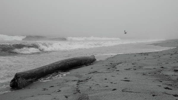 Photograph - Misquamicut Beach In Fog by Kirkodd Photography Of New England