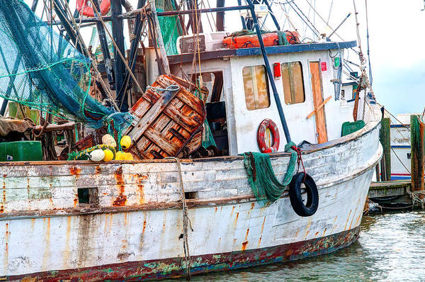 Miss Hale Shrimp Boat - Side Art Print