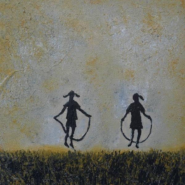 Skip Rope Painting - Miss Mary Mack by Sara Gardner