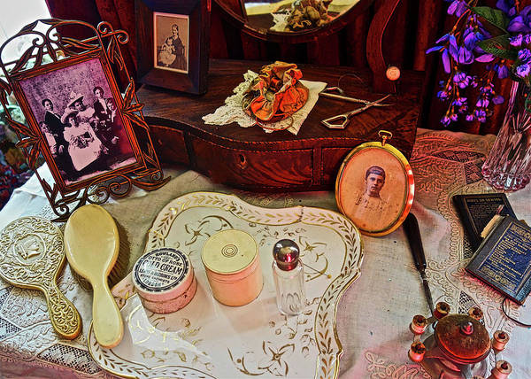 Photograph - Miss Mary's Table. by Joan Reese