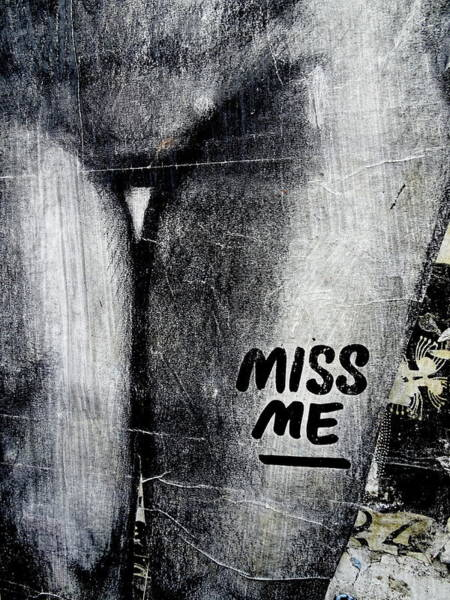 Wall Art - Photograph - Miss Me London  by Funkpix Photo Hunter